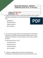 ARTE 8º OTÁVIO Trimestral