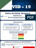 1 Indice de Alerta Temprana SE 15 REPORTE 21
