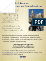 Pa Election Petition Law Flyer