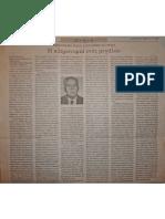 Η Κληρονομιά ενός Μεγάλου-οφειλόμενο χρέος στο Σάββα Αγουρίδη