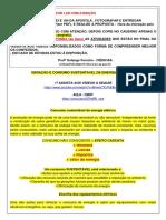 8 Ano - 08.04 -Orientações Gerais Favor Ler Com Atenção