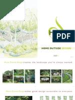 Home Outside Design Brochure