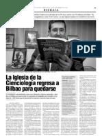 La Iglesia de Scientology regresa a Bilbao para quedarse