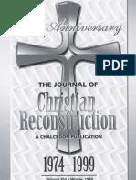 JCR Vol. 16 Christian Reconstruction