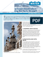 The Coquina Coast Desalination Plant