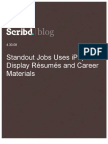 Standout Jobs Uses iPaper to Display Résumés and Career Materials, Scribd Blog, 4.30.08