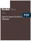 Apture Layers Scribd on Your Website, Scribd Blog, 4.15.08