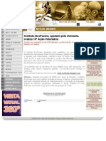 Instituto EcoFaxina, apoiado pela Unisanta, realiza 18ª Ação Voluntária