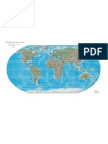 Physical Map of the World - Colour - Excellent! - Emap - eBook