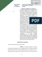 Casacion 724-2018-Junin - VLS Menor - ACP - El principio de legalidad como rule of law - Delito continuado, concurso ideal y real de delitos