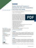 Brazilian Nutritional Consensus in Hematopoietic Stem Cell Transplantation