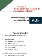Support cours & TD -Béton Précontraint_