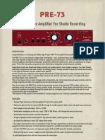 Manual PRE-73 Web