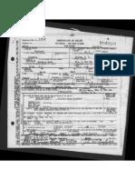 Annie Ware Death Certificate
