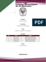 Tarea de Investigación Presupuestos_Grupo No1