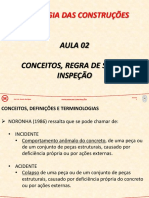PAT - Aula 02 - Conceitos, Regra de Sitter, Inspeção