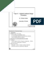 Topic 6 - AI Flexible Pavement Design