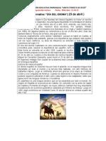 CL-Lectura Informativa Dia Del Idioma-Miércoles 21-04-21