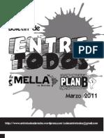 Boletín de ENTRE TODOS #2 Marzo 2011