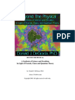 beyond the physical a synthesis of science and occulsism in light of fractals, chaos and quantum theory