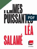 Léa Salamé - Femmes puissantes