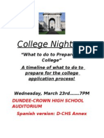 2011 College Night
