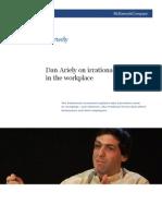 A irracionalidade no ambiente de trabalho - Dan Ariely