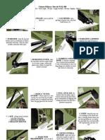 Chinese Military Shovel WJQ-308 Pamphlet