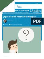 ¿Qué es una Matriz de Riesgo_ - Blog de La Calidad