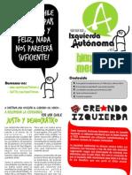 Boletín de bienvenida mechona - Izquierda Autónoma