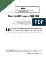 Bakersfield Breweries 1866_1920