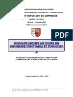 Support l1 Seminaire Isc a Imprimer 2019 Revise
