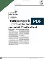 Tutti pazzi per la gita (virtuale) a Torino