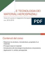 01 - Informazioni generali - Chimica e proprieta dei materiali