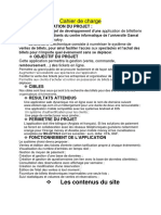 Cahier de Charge Du Groupe II