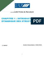 Introduction à la Dynamique des structures Page 11-Fin