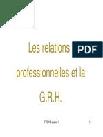 2. Les relations professionnelles et la GRH FPG 109 (28 mars 2018)