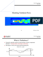 Modeling Turb. Flow with Fluent