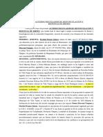 ACUERDO DE DIVORCIO O DESVINCULACIÓN Maribel - Nestor III