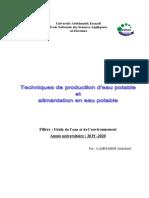 cours production eau potable2019-2020