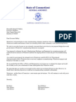 Watertown PILOT MME Letter to Malloy
