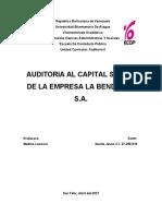 Auditoria del Capital Social (Caso Práctico)