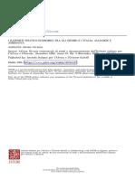 i Rapporti Politico-economici Fra Gli Oromo e l'Italia