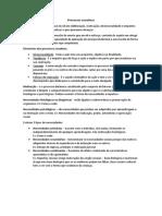 Processos conativos resumo psicologia