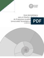 Guia_Metodologica para diseño y rediseño de los programas academicos de la universidad tecnologica de pereira