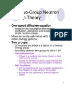 Two-Group-Neutron-Diffusion