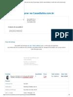 Compra Pneu Casas Bahia 23-03-2020
