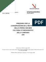 Prezzi Campania 2006