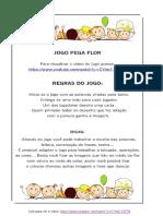 _ Jogo Pega Flor