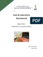 Lab Mediciones Electricas en CC 2sem2019